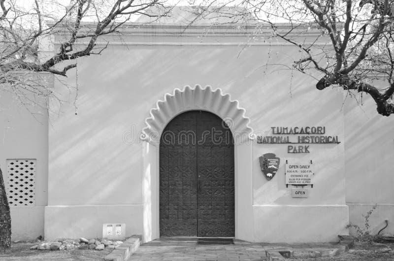 Tumacacori全国历史公园 免版税库存照片