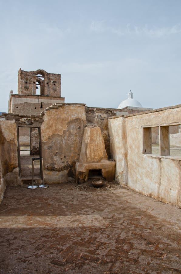 Tumacacori全国历史公园 库存照片