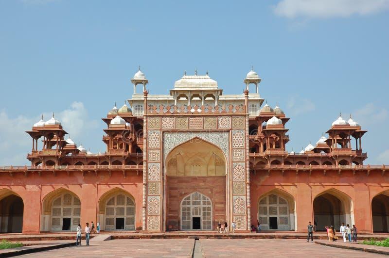 Tumba de Akbar el grande imagen de archivo