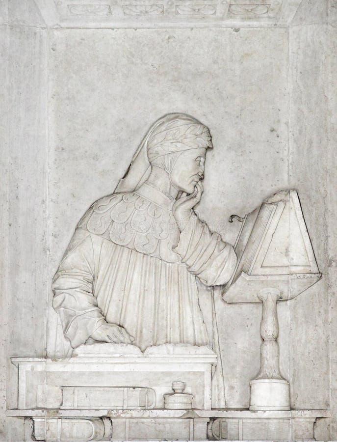 Tumba de Dante fotos de archivo