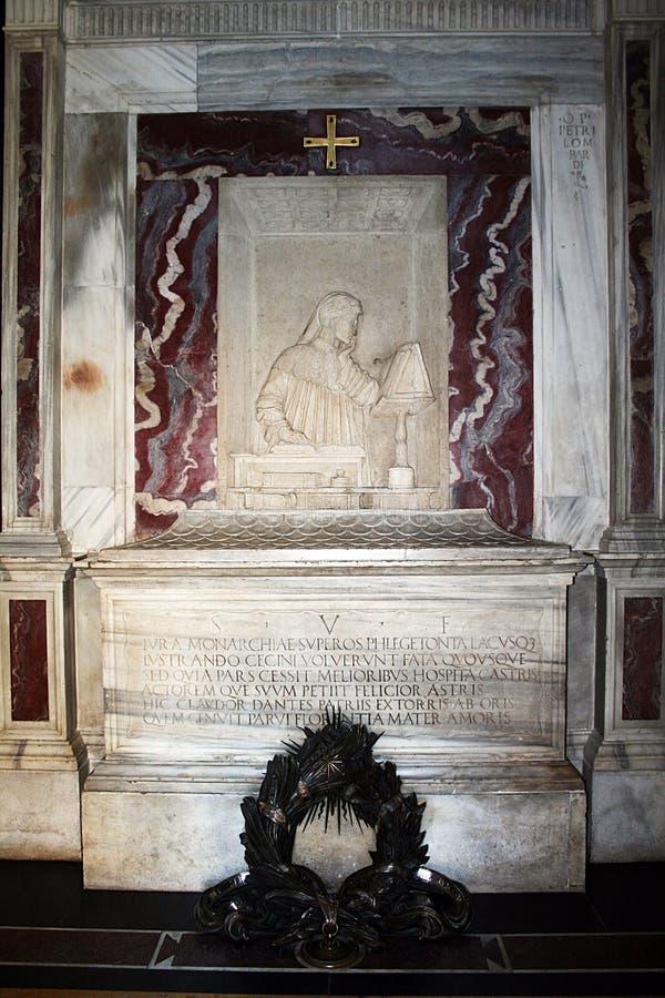 Tumba de Dante imágenes de archivo libres de regalías