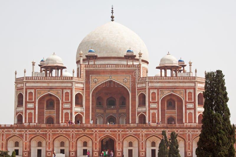 Tumba de Humayun en Delhi, la India imagen de archivo libre de regalías