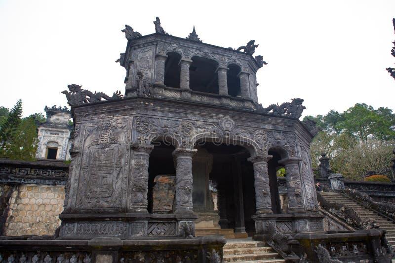Tumba de Khai Dinh fotografía de archivo libre de regalías