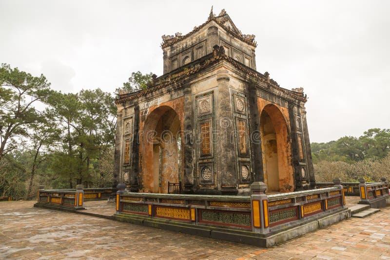 Tumba de Khiem de Tu Duc en Hue Vietnam foto de archivo