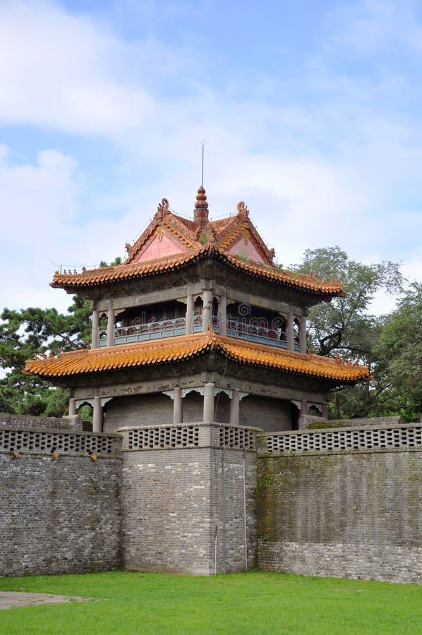 Tumba de la dinastía de Qing, Shenyang, China de Fuling fotografía de archivo