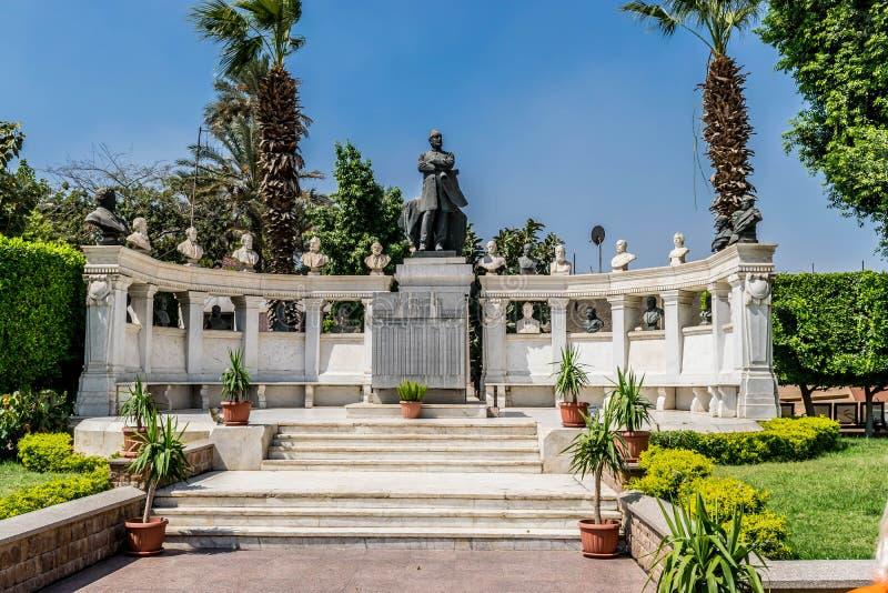 Tumba de Mariette, egipcio Museium en El Cairo fotos de archivo libres de regalías