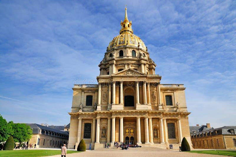 Tumba de Napoleon, París imagenes de archivo