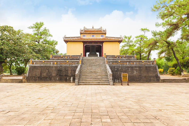 Tumba de rey Minh Mang, la ciudad imperial de la tonalidad imagen de archivo