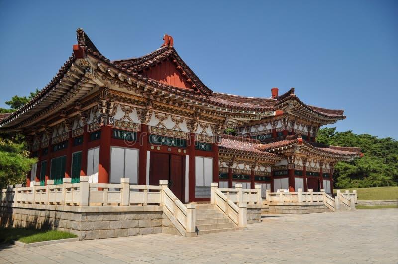 Tumba de rey Tongmyong en Corea del Norte  imagen de archivo