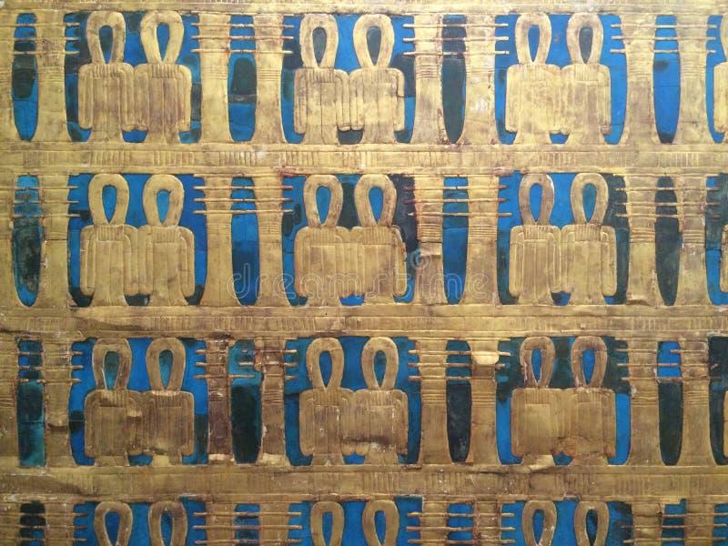 Tumba de Tutankhamun en el museo egipcio en El Cairo en Egipto en África Famoso, civilización fotografía de archivo