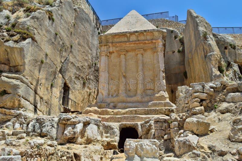 Tumba de Zechariah fotos de archivo libres de regalías
