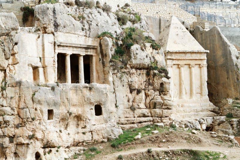 Tumba de Zechariah y tumba del cerdo foto de archivo