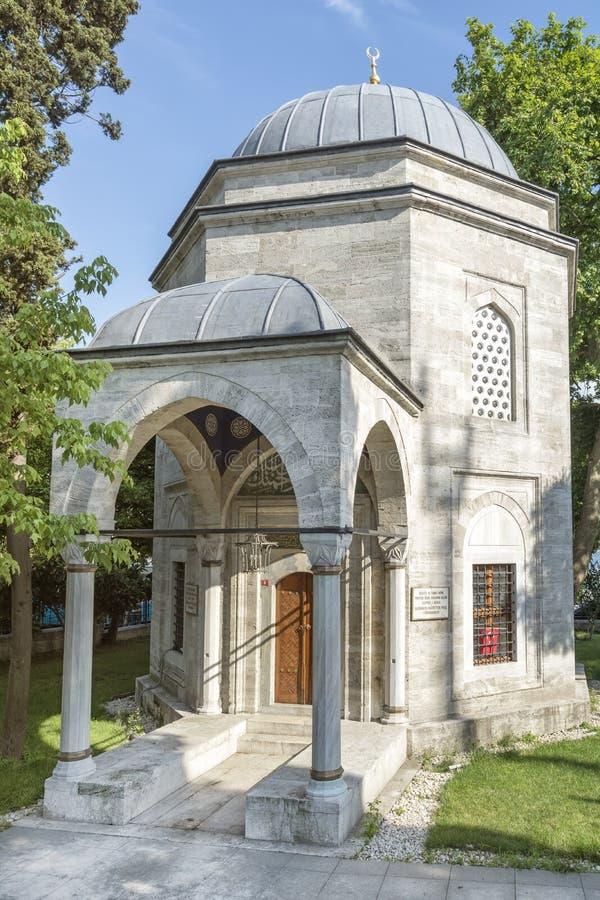 Tumba del bajá de Barbaros Hayrettin, Estambul, Turquía imagenes de archivo