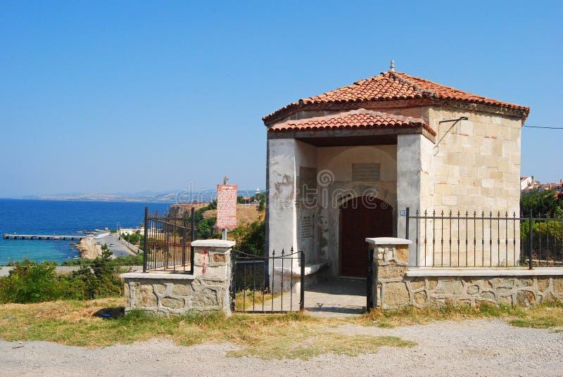 Tumba del bajá de Saruca en Gelibolu, Turquía fotografía de archivo