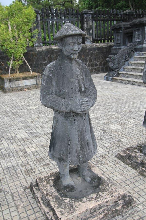 Tumba del dinh del khai de Vietnam Hue Lang fotos de archivo
