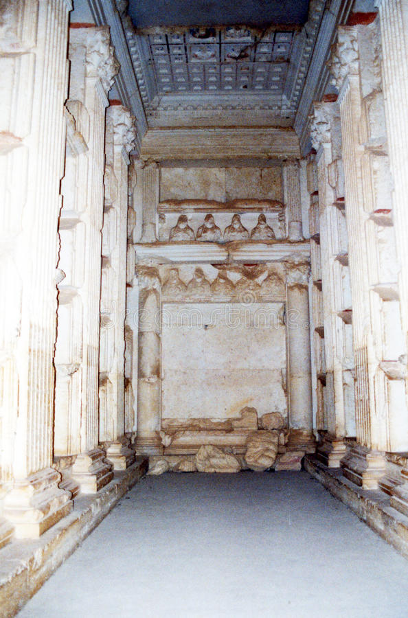 Tumba del Palmyra imagen de archivo libre de regalías