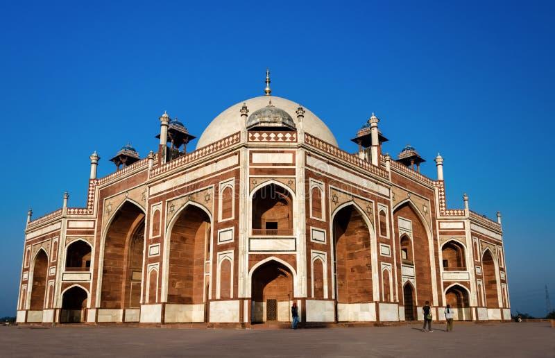 Tumba del ` s de Humayun en Nueva Deli, la India imágenes de archivo libres de regalías