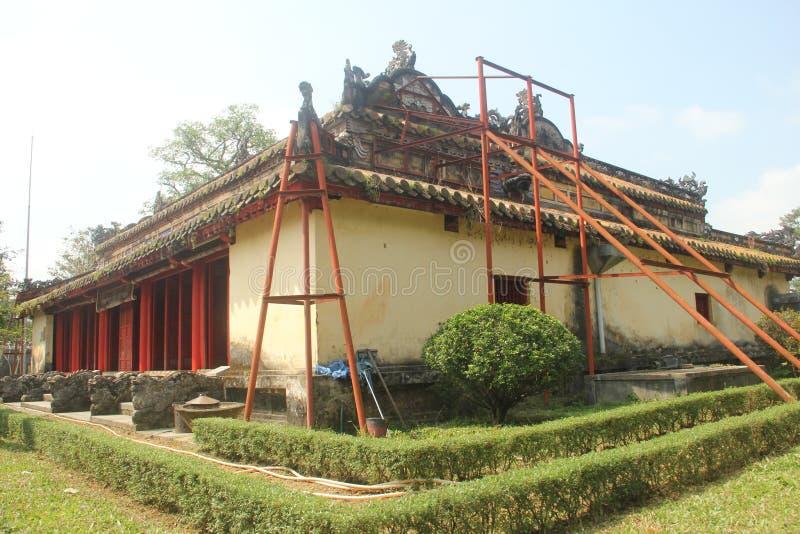 Tumba del ` s de rey Gia Long, fundador de Nguyen Dynasty, tonalidad, Vietnam foto de archivo