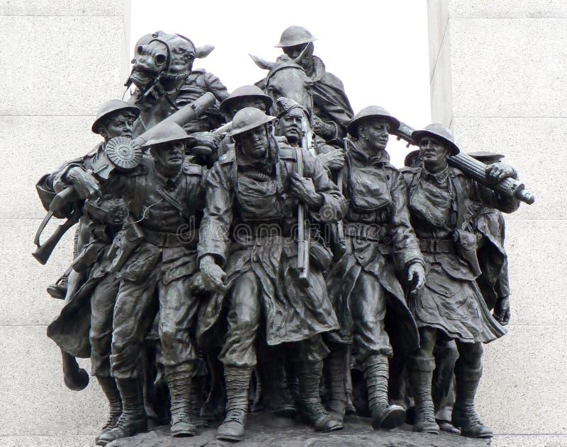 Tumba del soldado desconocido, Ottawa, Canadá imagen de archivo libre de regalías