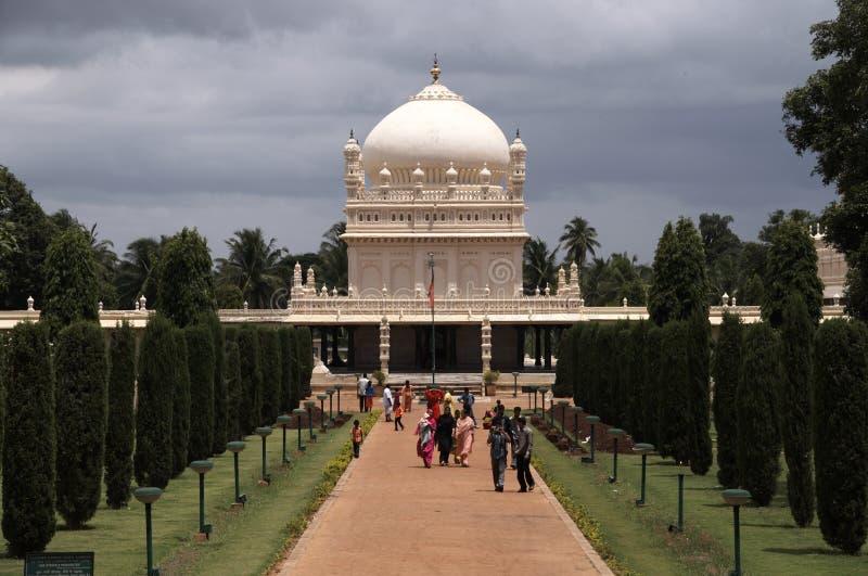 Tumba del sultán de Tipu fotos de archivo libres de regalías