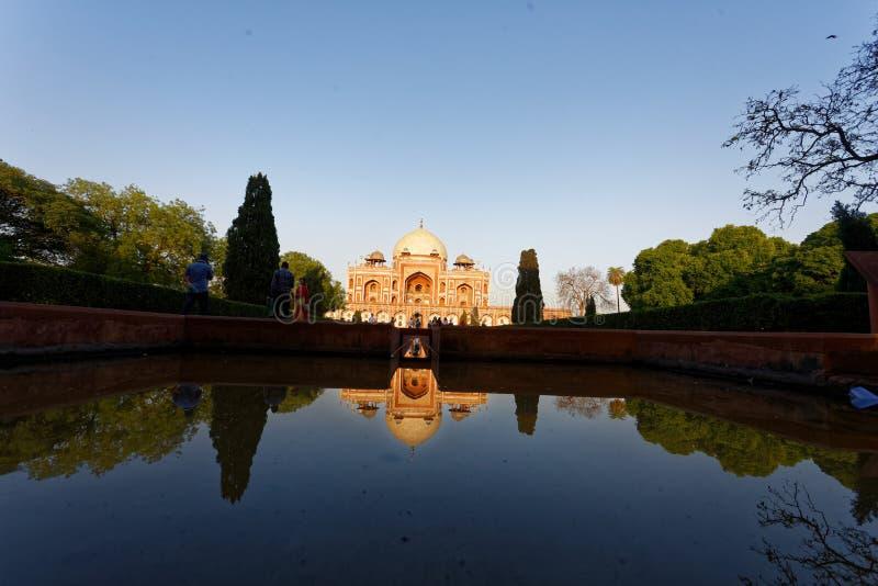 Tumba Delhi del ` s de Humayun imágenes de archivo libres de regalías