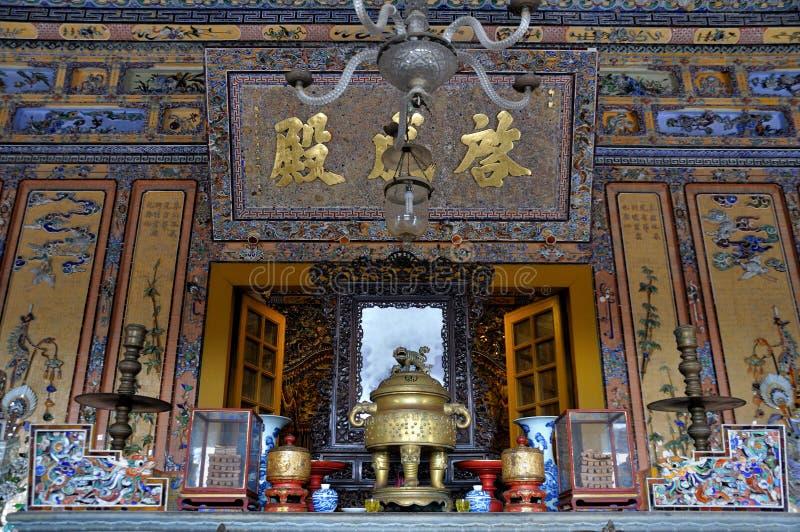Tumba real de Vietnam imagenes de archivo