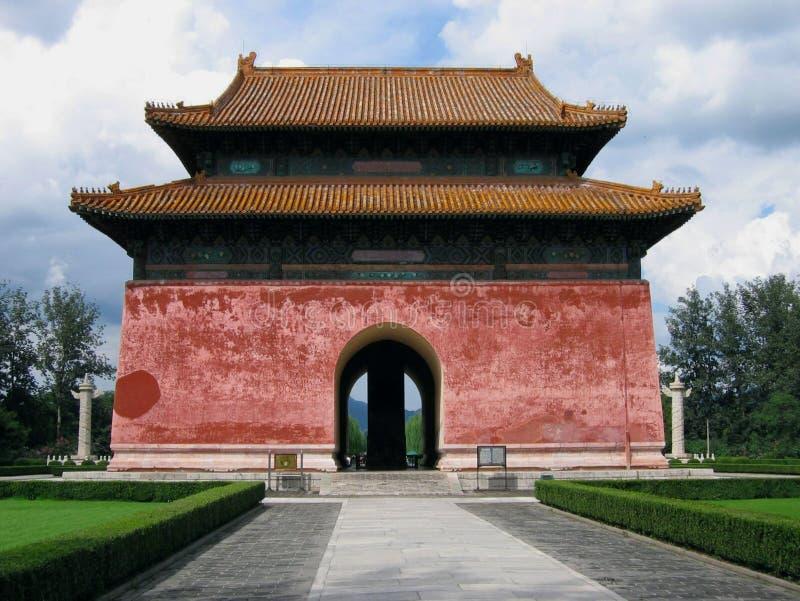 Tumbas de Ming imágenes de archivo libres de regalías
