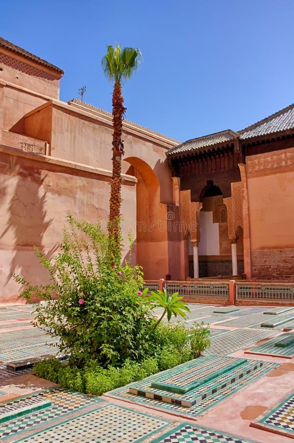 Tumbas de Saadian en Marrakesh fotos de archivo libres de regalías