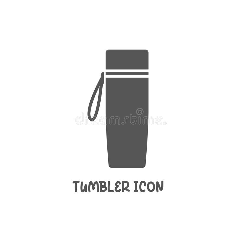Free Tumbler Icon Simple Flat Style Vector Illustration Royalty Free Stock Image - 159807866