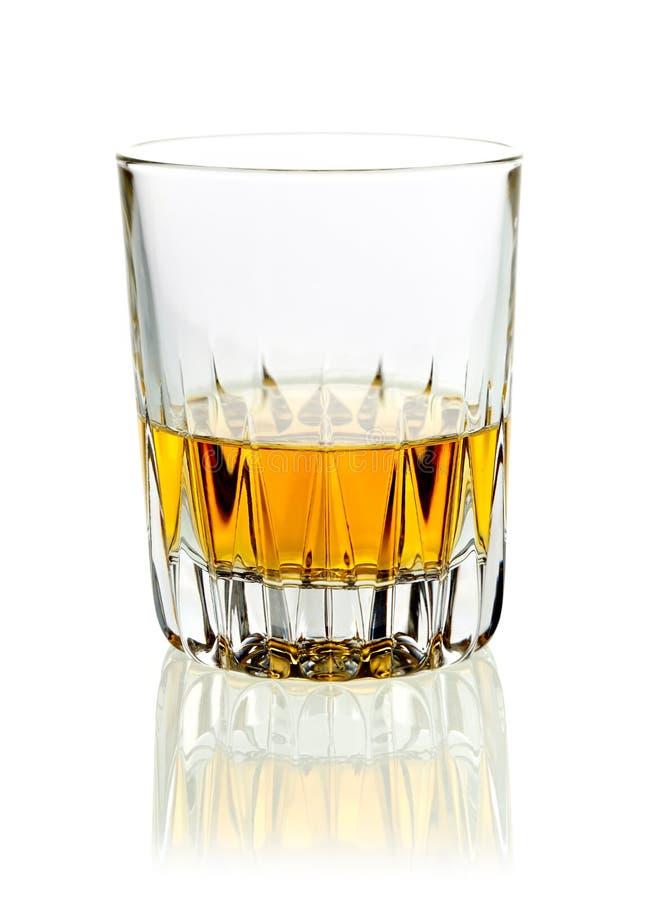 Tumbler whisky lub brandy zdjęcia royalty free