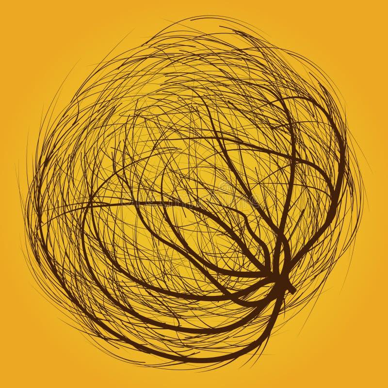 tumbleweed stock illustration