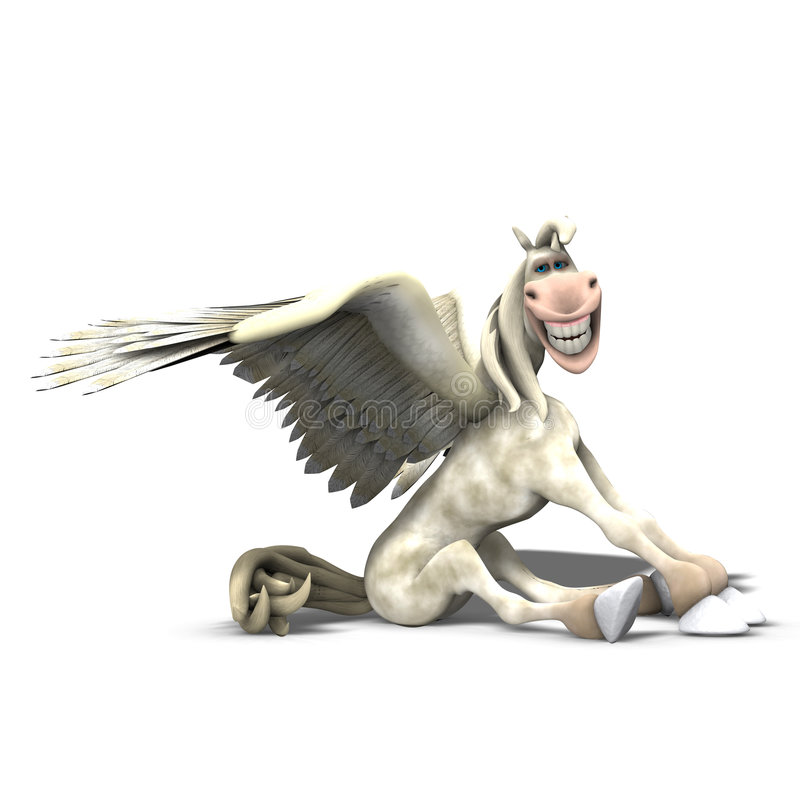 Tumblewings - 01 stock illustratie