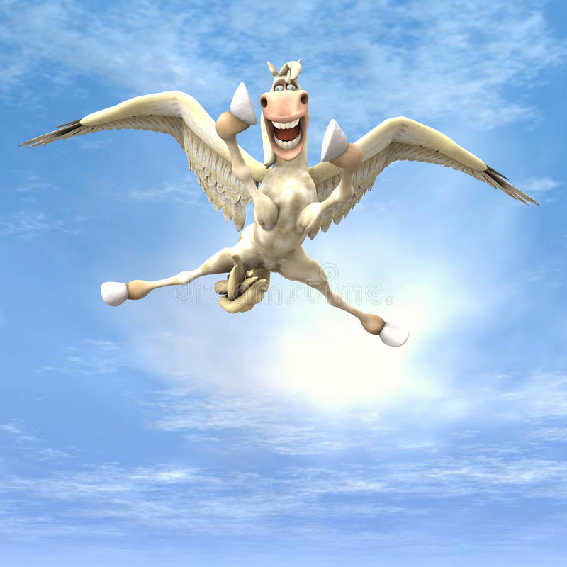 Tumblewings - 04 ilustração royalty free