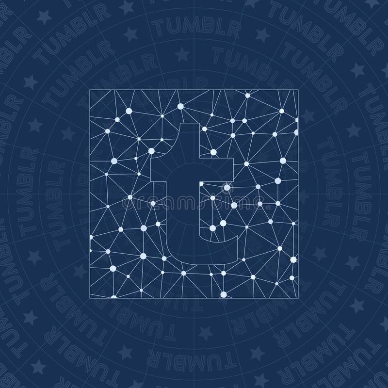 Tumblr Network Symbol Editorial Image Illustration Of Connection