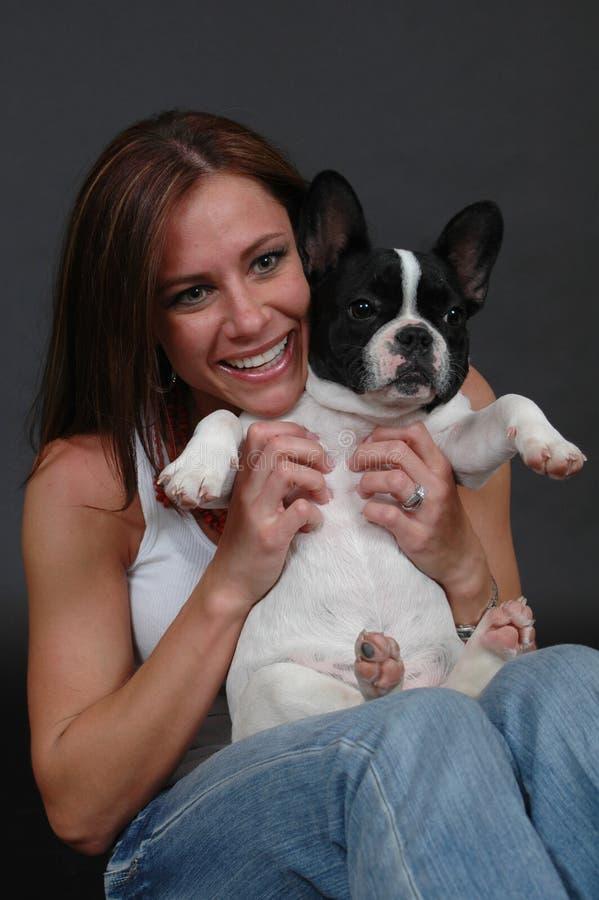 tummy щенка стоковое изображение rf