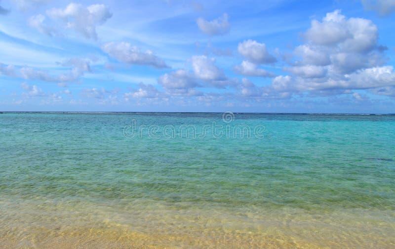 Tumon Bay, Guam. Tumon Bay on the Pacific island of Guam stock image