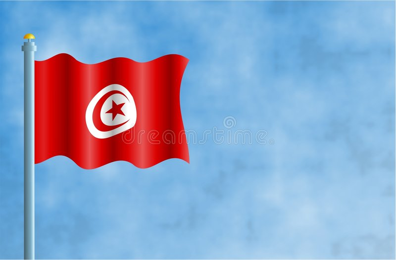 Tunísia ilustração do vetor