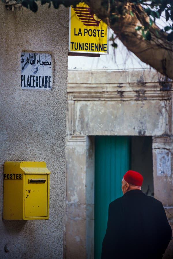 Tunísia, Bizerte, Tunes - chapéus típicos tunisinos fotos de stock