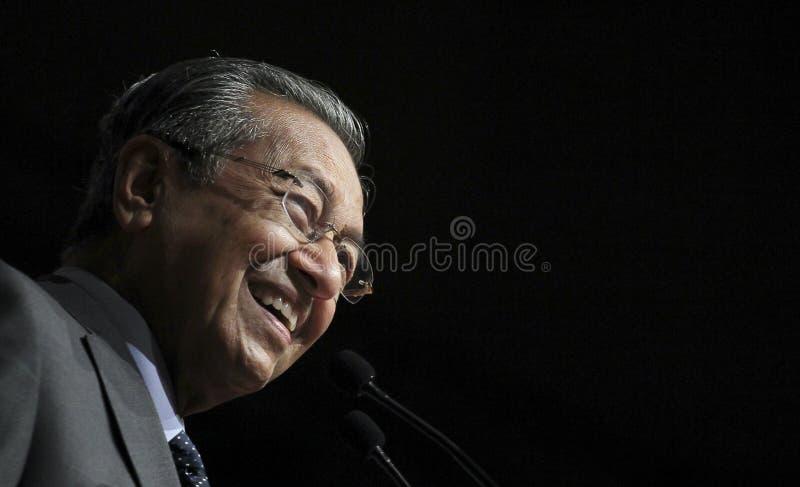 Tun Dr Mahathir Mohamad fotografia royalty free