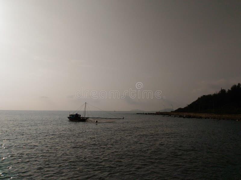 Tun Sie Sohn-Strand lizenzfreie stockbilder