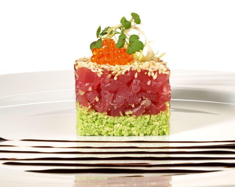 Tuna Appetizer - Fish Tartar stock photography