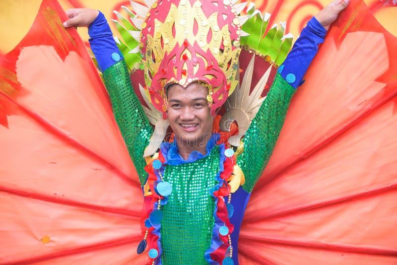 Tuna Festival en general Santos City, las Filipinas fotos de archivo libres de regalías