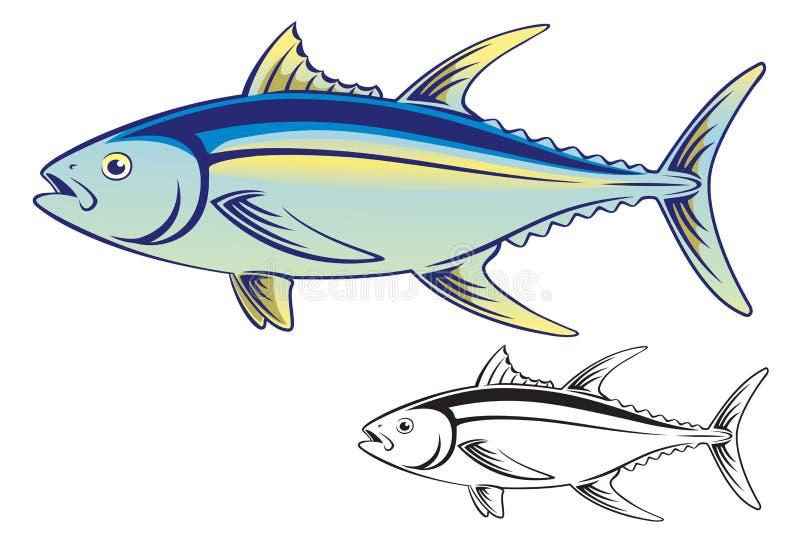 Tuna Fish ilustração stock