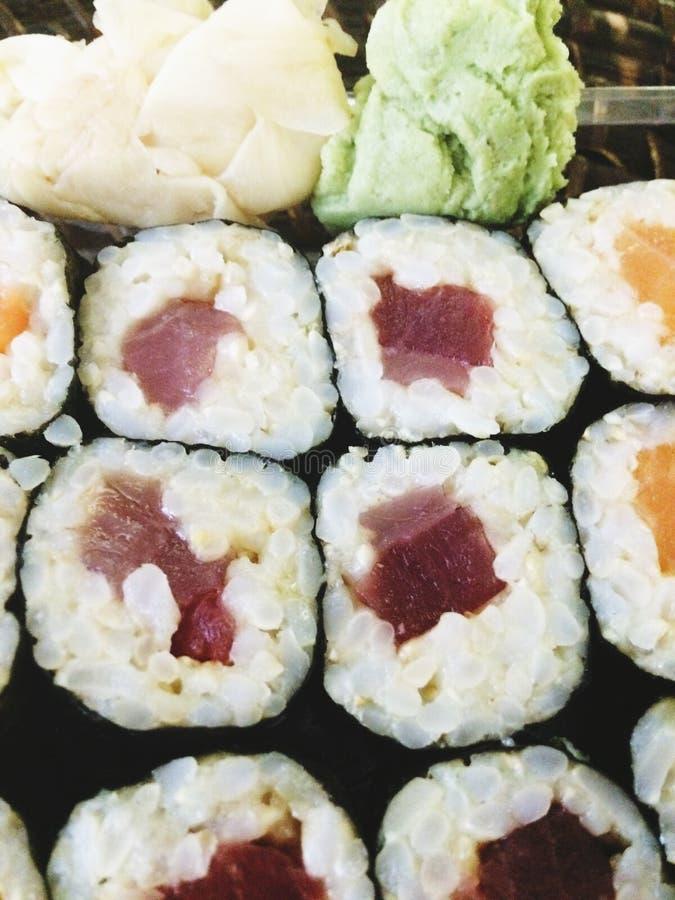 Tuna Roll immagini stock libere da diritti