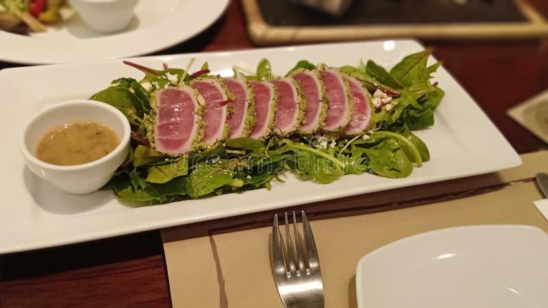 Tuna Roll fotografia de stock