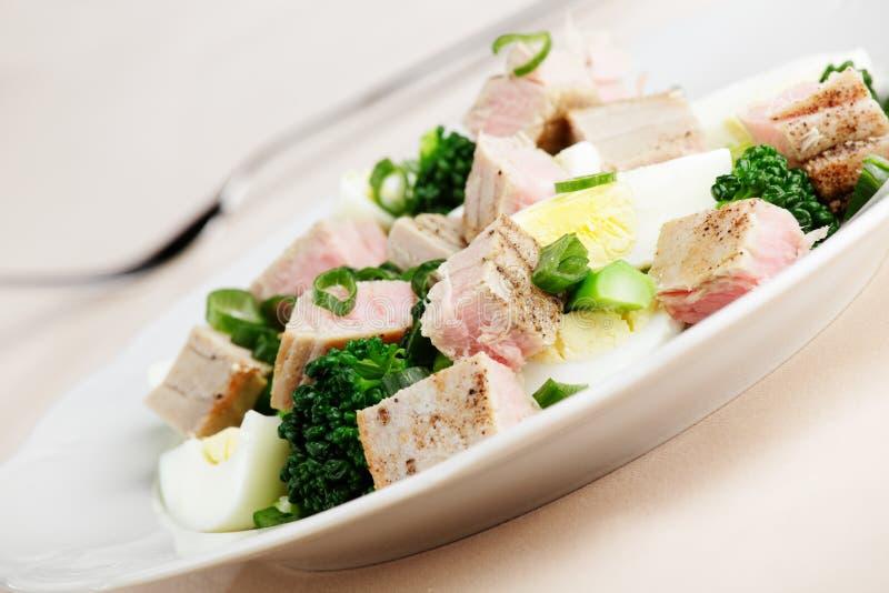 Download Tuna salad stock image. Image of boiled, macro, restaurant - 10189307