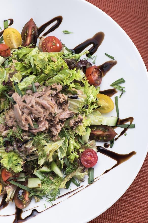 Tuna salad with cherry tomatoes 8 stock photos