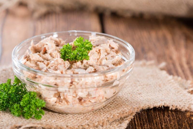 Tuna Salad hecha fresca imágenes de archivo libres de regalías