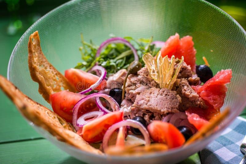 Tuna salad royalty free stock photos