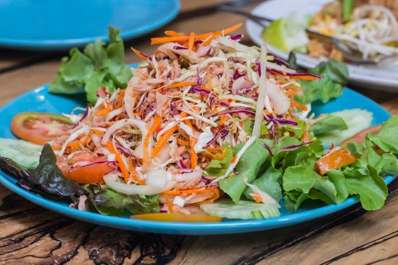 Tuna Salad picante fotos de stock